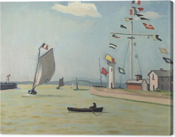 Leinwandbild Albert Marquet - Honfleur - Reproductions