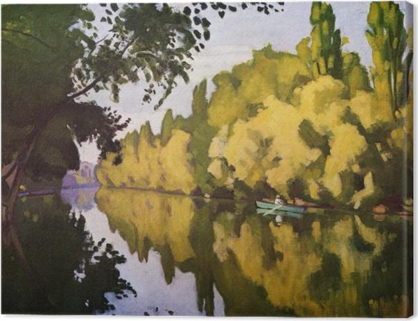 Leinwandbild Albert Marquet - La Varenne Saint-Hilaire - ein Boot - Reproductions