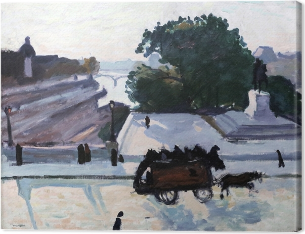 Leinwandbild Albert Marquet - Paris. The Pont Neuf im Sommer. - Reproductions