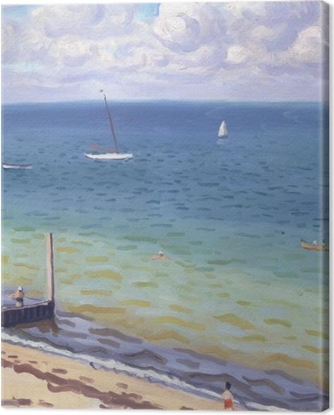 Leinwandbild Albert Marquet - Pyla-sur-Mer - Reproductions