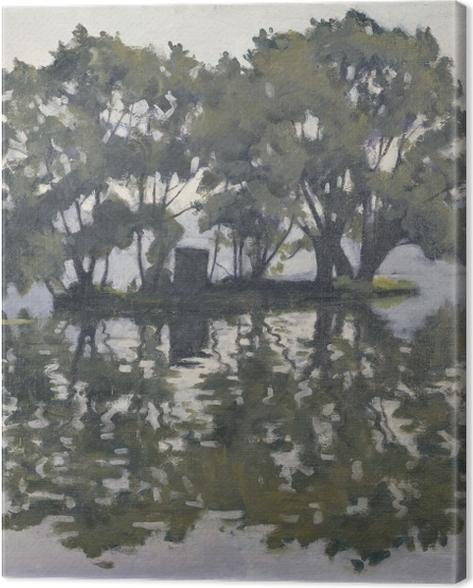 Leinwandbild Albert Marquet - Schwaneninsel - Reproductions