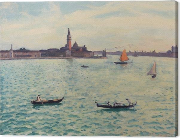 Leinwandbild Albert Marquet - Venedig - Reproductions