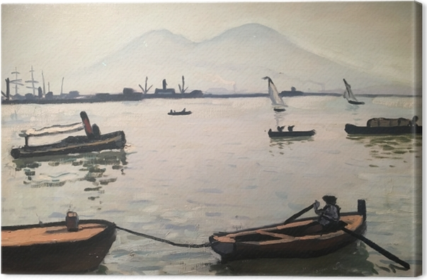 Leinwandbild Albert Marquet - Vesuv - Reproductions