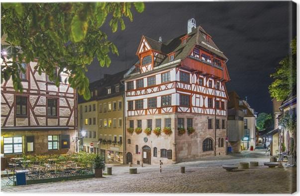 Leinwandbild Albrecht-Dürer-Haus in Nürnberg, Deutschland • Pixers ...