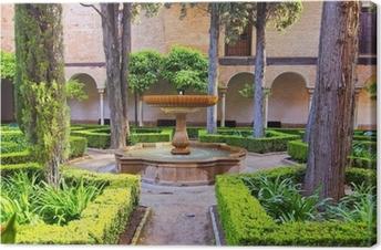 Leinwandbild Alhambra in Granada, Spanien