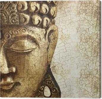 Leinwandbild Alte Buddha