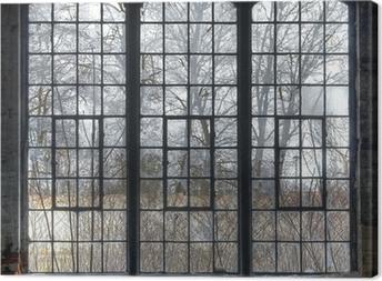 Leinwandbild Alte Fenster