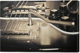 Leinwandbild Alte Gitarre