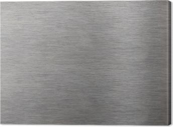Leinwandbild Aluminiumoberfläche