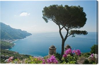 Leinwandbild Amalfi Coast Blick