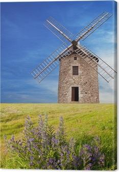 Leinwandbild Antico Mulino a vento