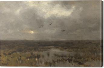 Leinwandbild Anton Mauve - Sumpf
