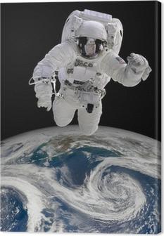Leinwandbild Astronaut im Weltraum