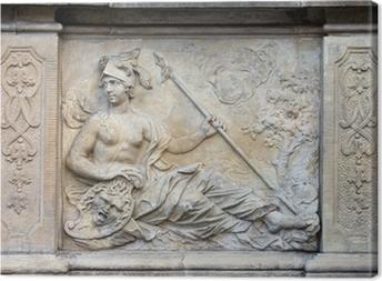 Leinwandbild Athena Relief in Danzig