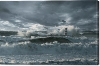 Leinwandbild Atlantic Sturm