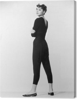 Leinwandbild Audrey Hepburn