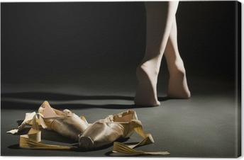 Leinwandbild Ballett schoes