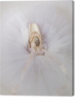 Leinwandbild Ballettschuhe 1