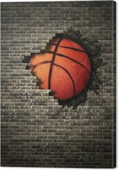 Leinwandbild Basketball