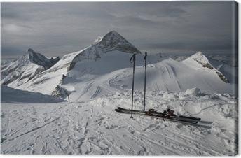 Leinwandbild Berg-Ski-