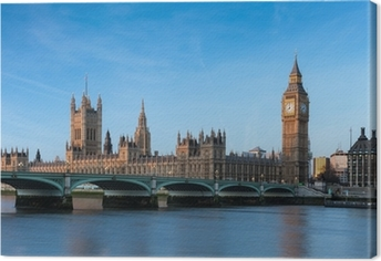 Leinwandbild Big Ben London England