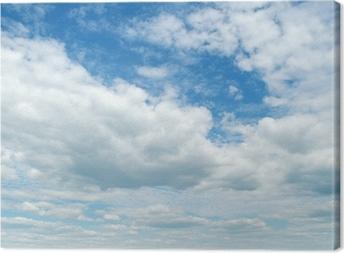 Leinwandbild Blue sky