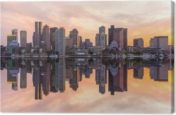 Leinwandbild Boston Skyline Panorama