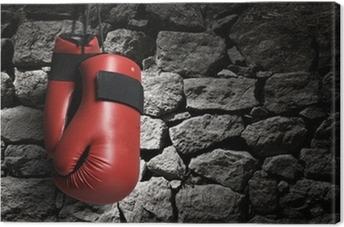 Leinwandbild Boxhandschuhe