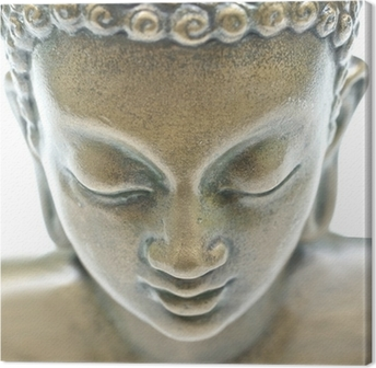Leinwandbild Buddha Porträt