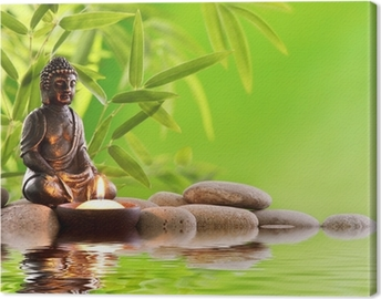 Leinwandbild Buddha zen