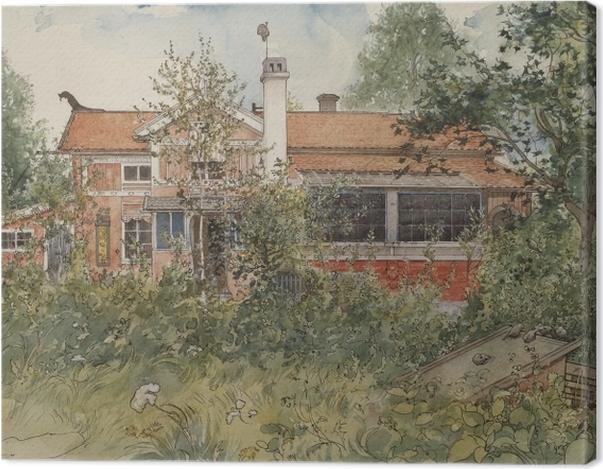 Leinwandbild Carl Larsson - Haus in der Sonne - Reproductions