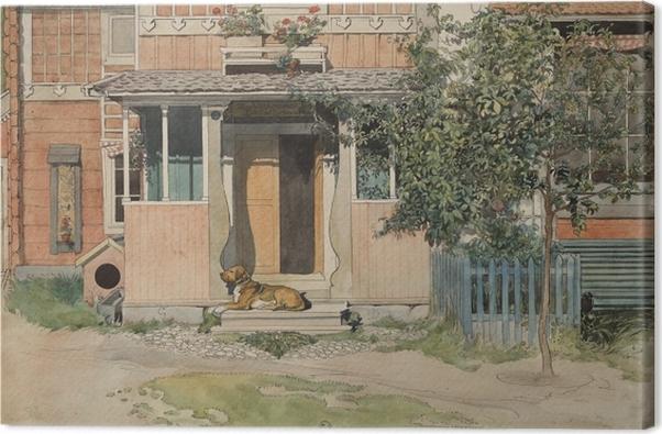 Leinwandbild Carl Larsson - Veranda - Reproductions