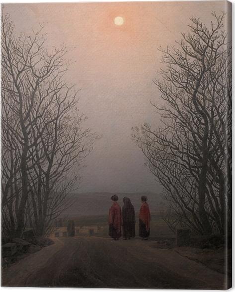Leinwandbild Caspar David Friedrich - Ostermorgen - Reproductions