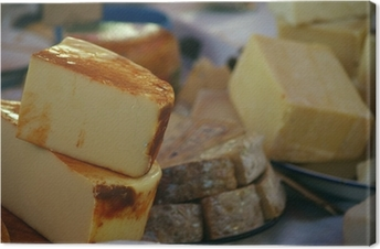 Leinwandbild Cheeses