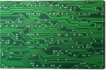 Leinwandbild Circuit board