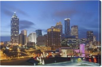 Leinwandbild City of Atlanta.