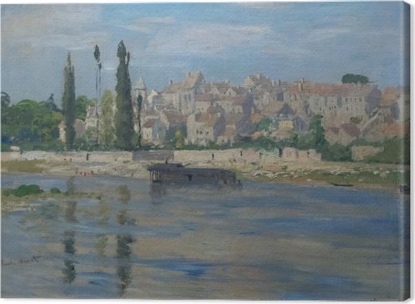 Leinwandbild Claude Monet - Carrières-Saint-Denis - Reproduktion