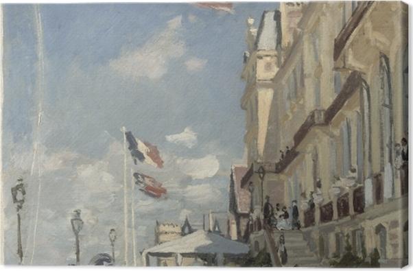 Leinwandbild Claude Monet - Hôtel des Roches Noires - Reproduktion