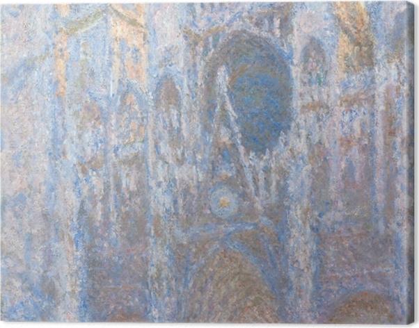 Leinwandbild Claude Monet - Kathedrale von Rouen - Reproduktion