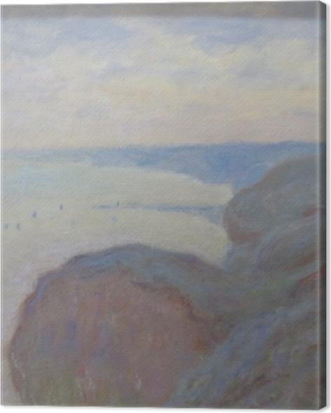 Leinwandbild Claude Monet - Klippen von Dieppe - Reproduktion