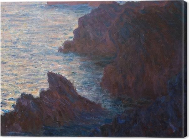 Leinwandbild Claude Monet - Port-Domois, Belle-Île - Reproduktion