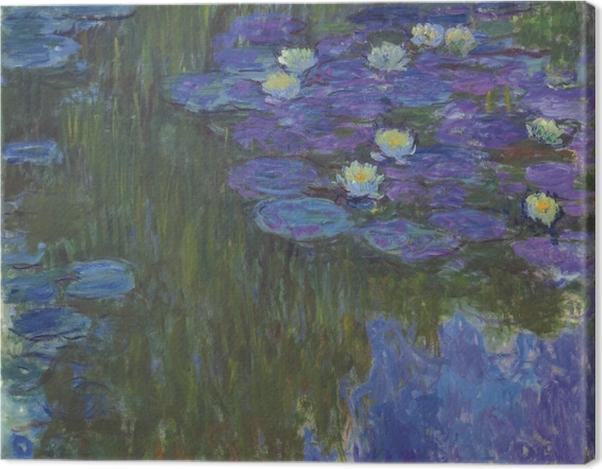 Leinwandbild Claude Monet - Seerosen - Reproduktion