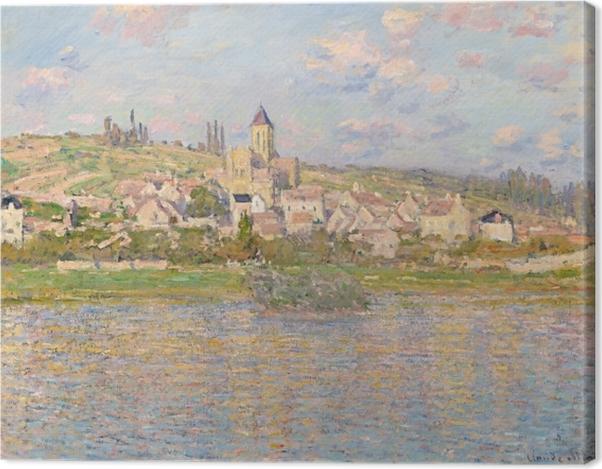 Leinwandbild Claude Monet - Vétheuil - Reproduktion
