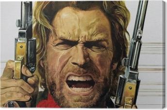 Leinwandbild Clint Eastwood