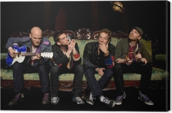 Leinwandbild Coldplay