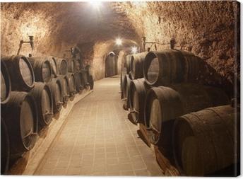 Leinwandbild Corridor im Weingut