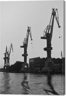 Leinwandbild Danziger Werft 6