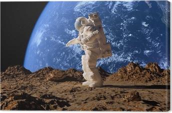 Leinwandbild Der Astronaut