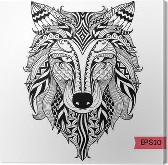 malvorlage boser wolf