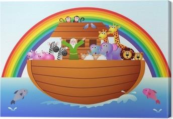 Leinwandbild Die Arche Noah